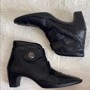 Josef Seibel Leather Boots